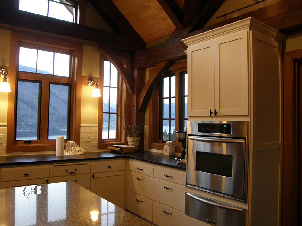 Timber Frame Design Cougar Creek Timber Frame
